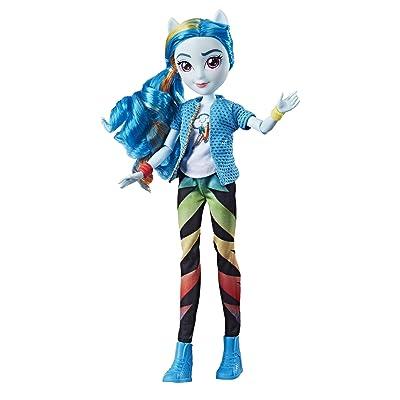 My Little Pony Equestria Girls Rainbow Dash Classic Style Doll: Toys & Games
