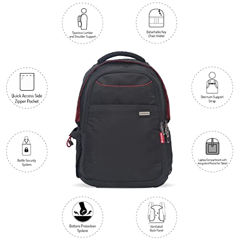e1aabb52ac Harissons Bags Concord Professional Laptop Backpack for Men and ...