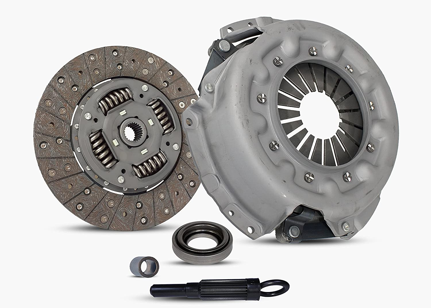 Clutch Kit Works With Nissan Frontier Pathfinder Xterra Xe Se Le Extended Crew Cab Pickup 4-Door Sport Utility 4-Door 1997-2004 3.3L V6 GAS SOHC Naturally ...