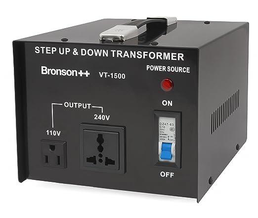 87 opinioni per Bronson++ VT 1500- Convertitore 110 Volt- Trasformatore di voltaggio USA-