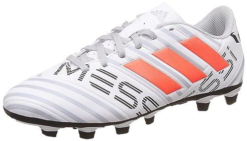 adidas Nemeziz Messi 17.4 FxG, Zapatillas de Fútbol para Hombre, (FTWR White/Solar Orange/Clear Grey), 42 EU: Amazon.es: Zapatos y complementos