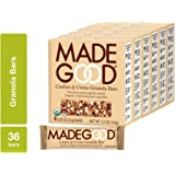MadeGood Cookies and Creme Granola Bars, 6 Bars (0.85 oz), 6 Boxes; Contain Nutrients of One Full Serving of Vegetables…
