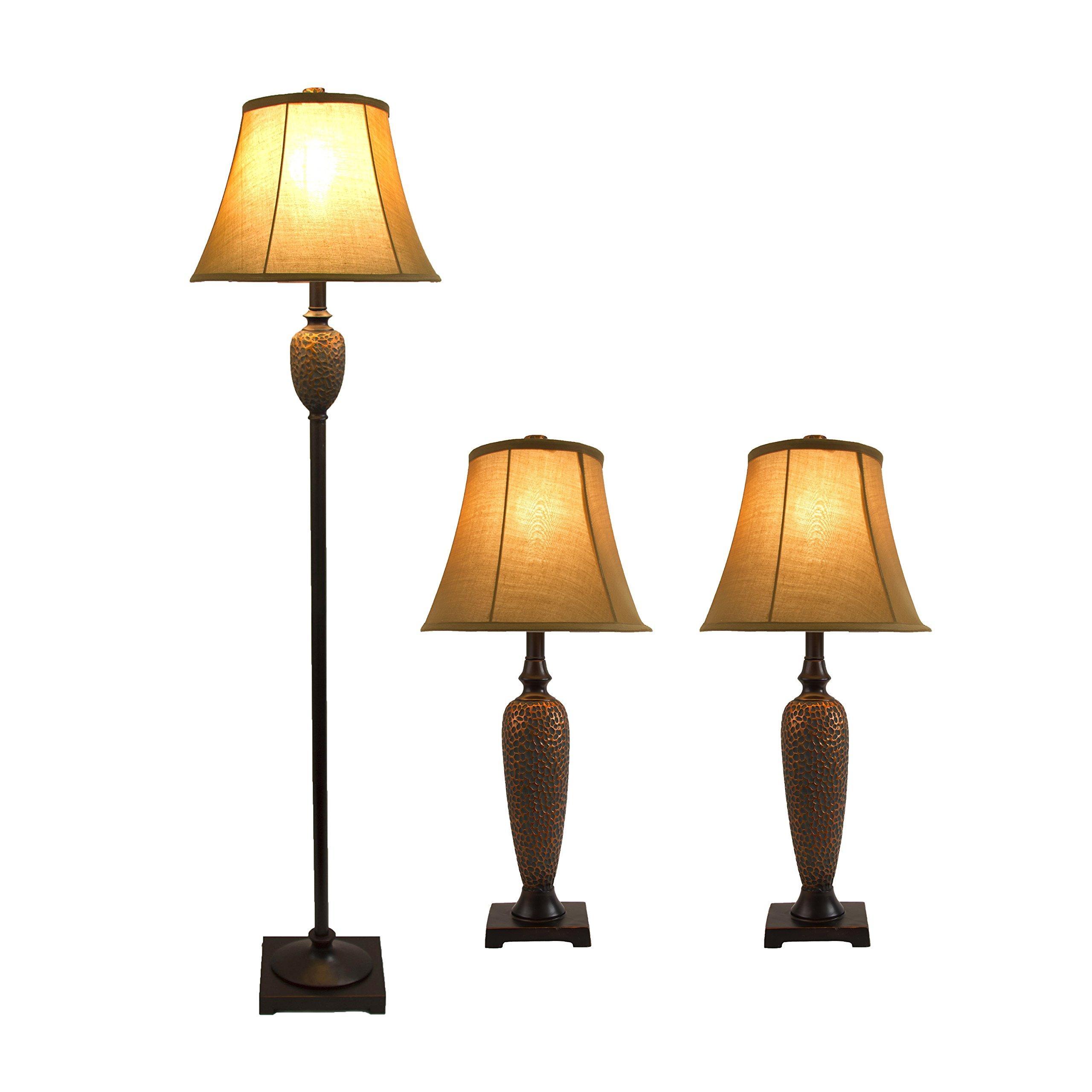 Elegant Designs LC1000-HBZ Lamp Set by Elegant Designs (Image #3)