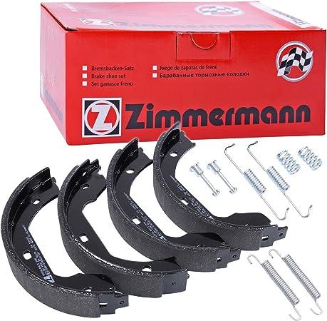 Zimmermann 10990 106 3 Bremsbacken Hinten Auto