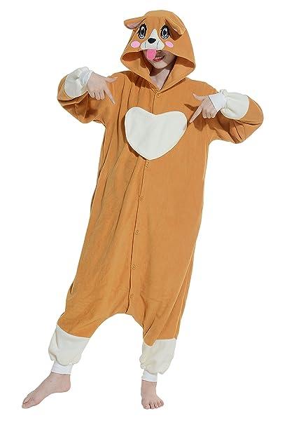 Cosplay Animales Pijamas Mujer Invierno Novedad Navidad Traje Disfraz Adulto Perro