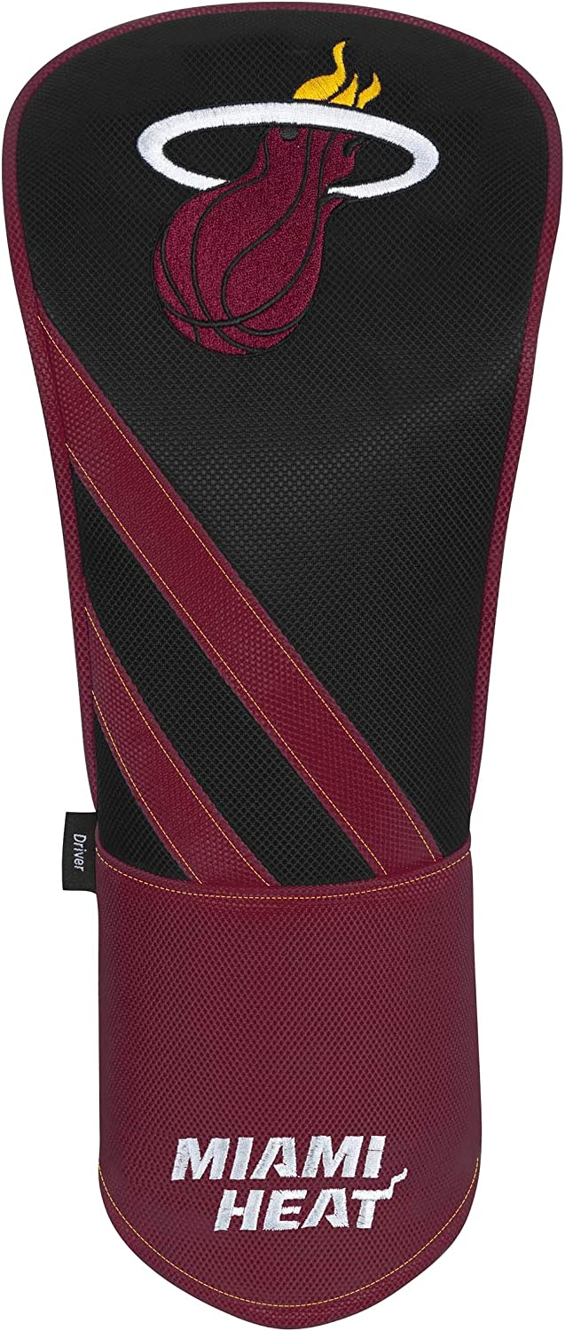 Team Effort Miami Heat Individual Driver Headcover : Sports & Outdoors