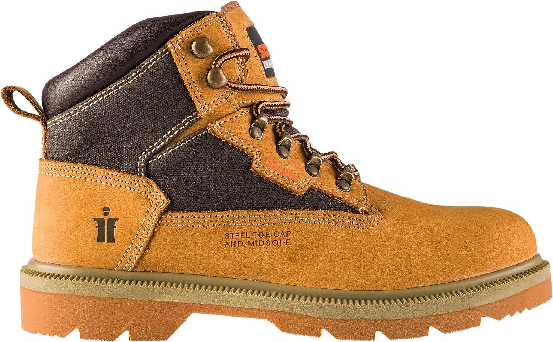 Sizes 7-12 Scruffs RAPID Waterproof Lightweight Safety Work Boots Black
