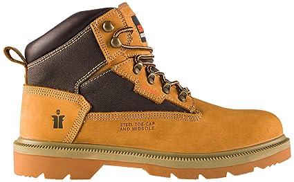 2b46d250763 Scruffs Men's Twister Safety Boots Sandstone 7 UK