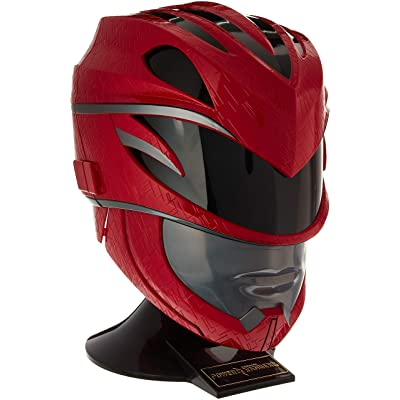Power Rangers Movie Legacy Helmet, Red: Toys & Games