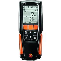 testo 310 Analizador de gases de combustión, kit con impresora; Honeywell ZPFL1 - Detector gas