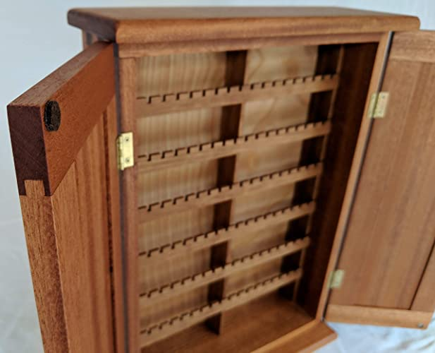 Charmant Earring Cabinet Made From Sapele