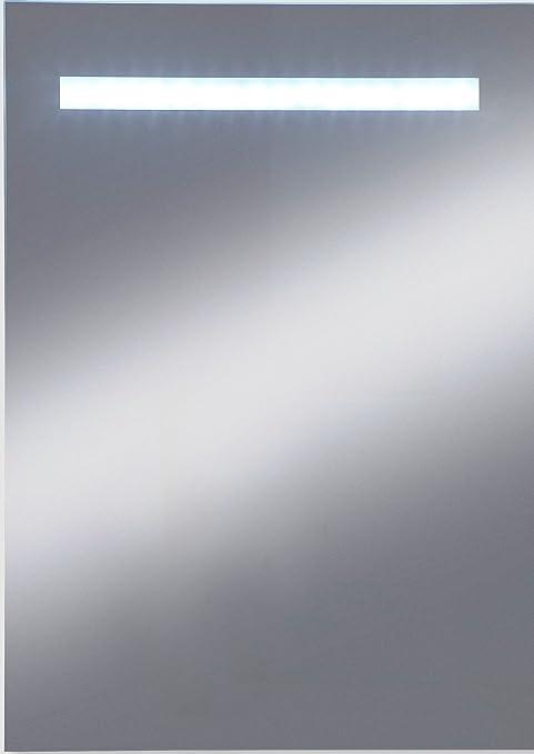 Kristall-Form 48000070 - Espejo con luz LED (12 bombillas LED preinstaladas, protección