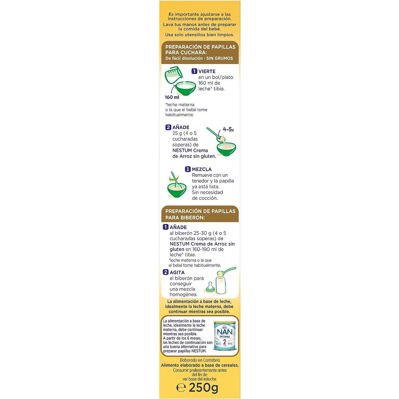 Nestlé Papillas NESTUM Cereales para bebé - 3 papillas de ...