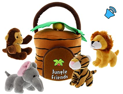 Amazon.com: Etna - Juego de juguetes interactivos de peluche ...