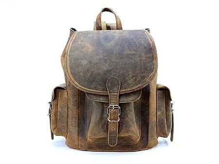 093cac425bd6 Scaramanga Large Leather Backpack  Amazon.co.uk  Luggage