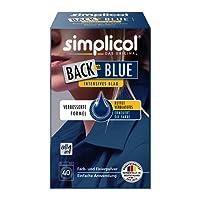 simplicol Farberneuerung Back-to: Farbauffrischung und -Erneuerung in der Waschmaschine, Hautfreundlich, All-in-1, komplette DIY Färbemischung mit Textilfarbe für Stoffe