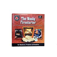 MEECO'S RED DEVIL All Natural Wooly Firestarters for Woodstoves, Fireplaces, Campfires, Chimineas, Coal Stoves, Pellet…