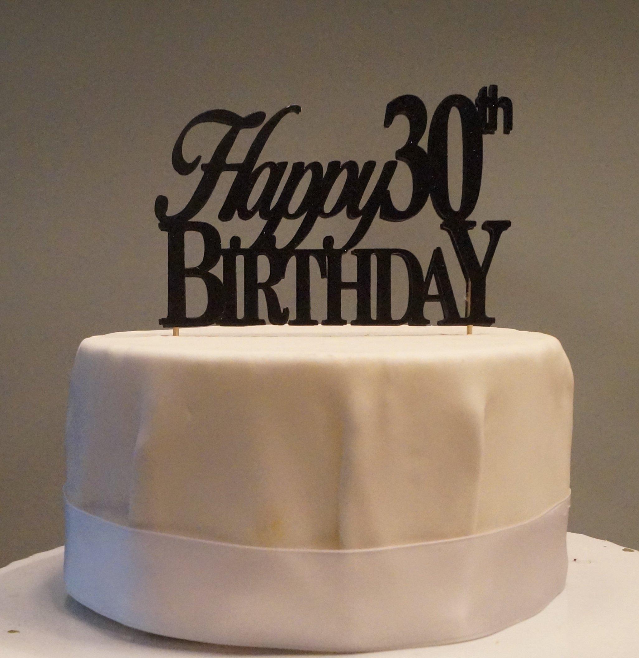 Strange Black Happy 30Th Birthday Cake Topper Buy Online In Egypt All Funny Birthday Cards Online Alyptdamsfinfo