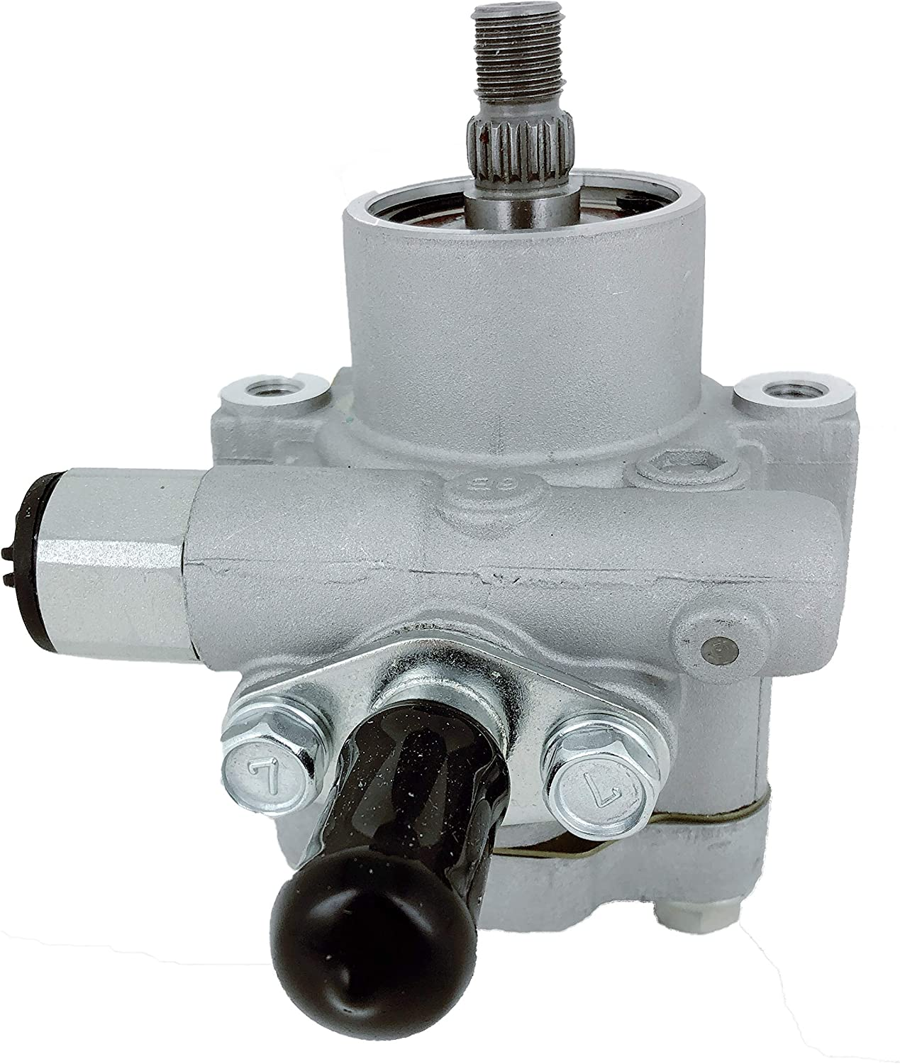 Well Auto 21-5217 New Power Steering Pump with Sensor 98-11 Frontier 2.4L 99-99 NP300 2.4L 00-04 Xterra 4 CYL