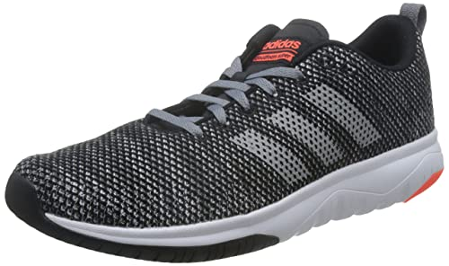 adidas CF Superflex, Scarpe da Ginnastica Basse Uomo, Nero (Core Black/Grey Three/Solar Red), 41 1/3 EU
