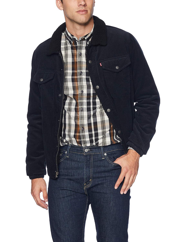 3b5dac01e6d23 Levi s Men s Corduroy Sherpa Lined Trucker Jacket at Amazon Men s Clothing  store