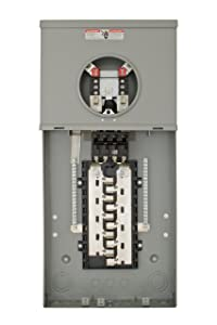 Siemens MC2040B1200S 20 Space 40 Circuit 200-Amp Surface Mount Meter Load Center Combination with Ring Type Cover
