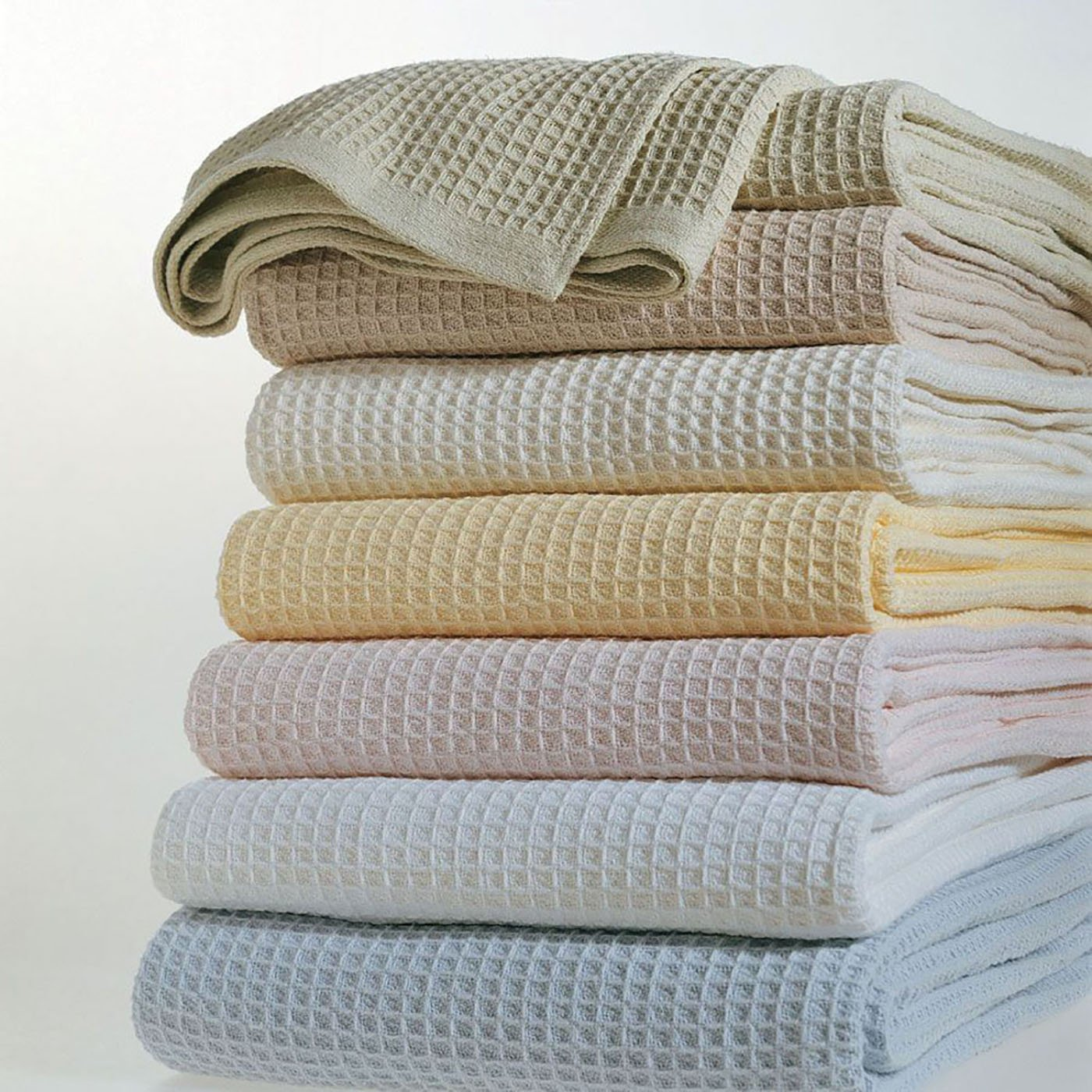 Kingston by Sferra - Full/queen Blanket 100x100 (White) by Sferra