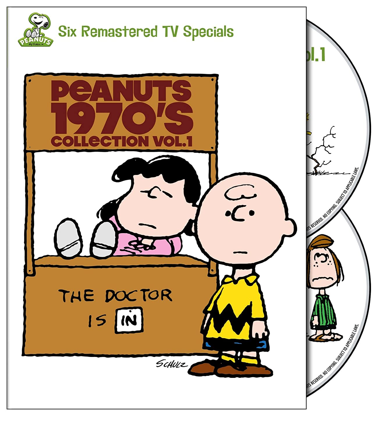 amazon com peanuts 1970 u0027s collection vol 1 it u0027s a mystery