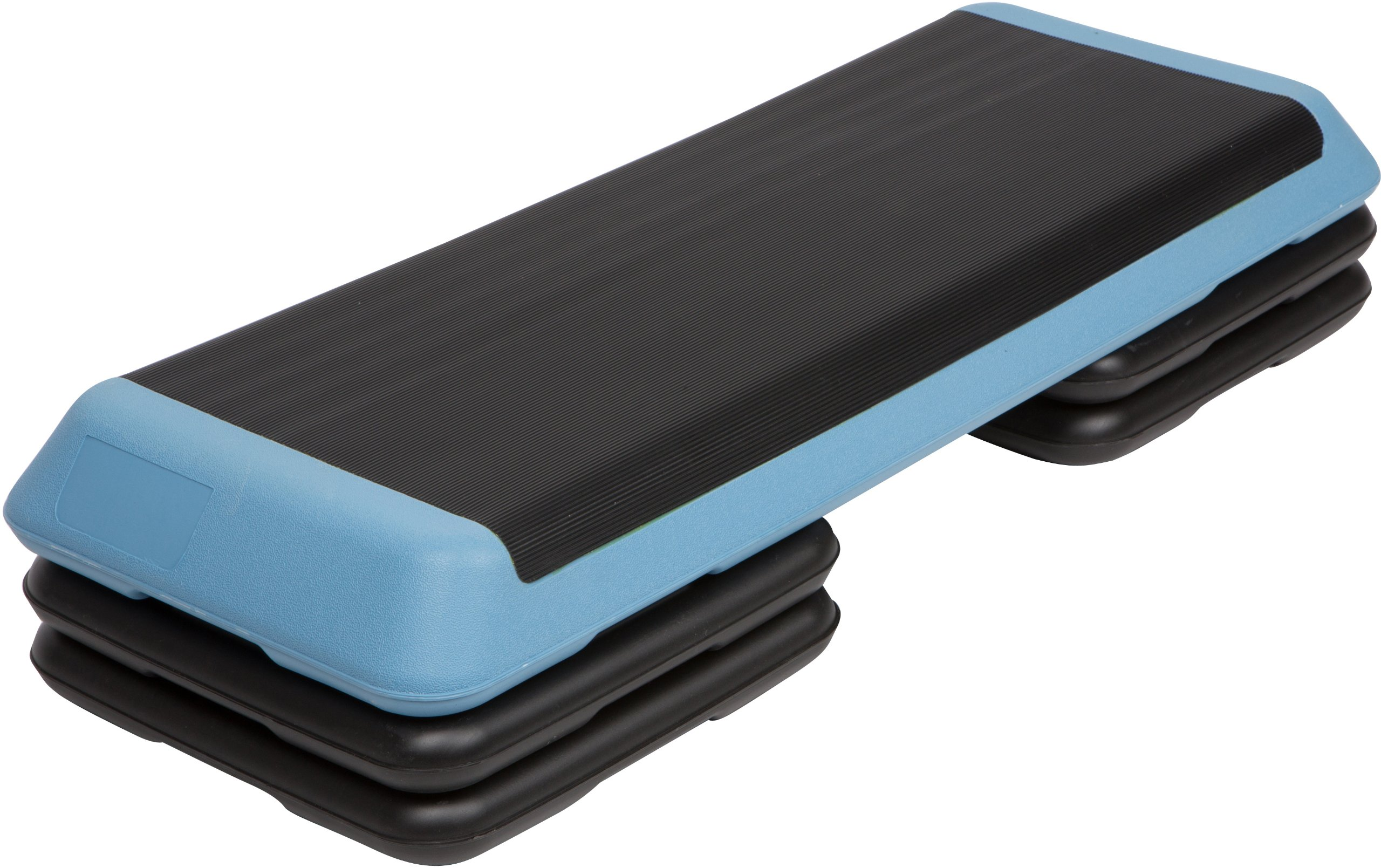 Trademark Innovations High Step Work Out Training Device, Short Risers with One Long