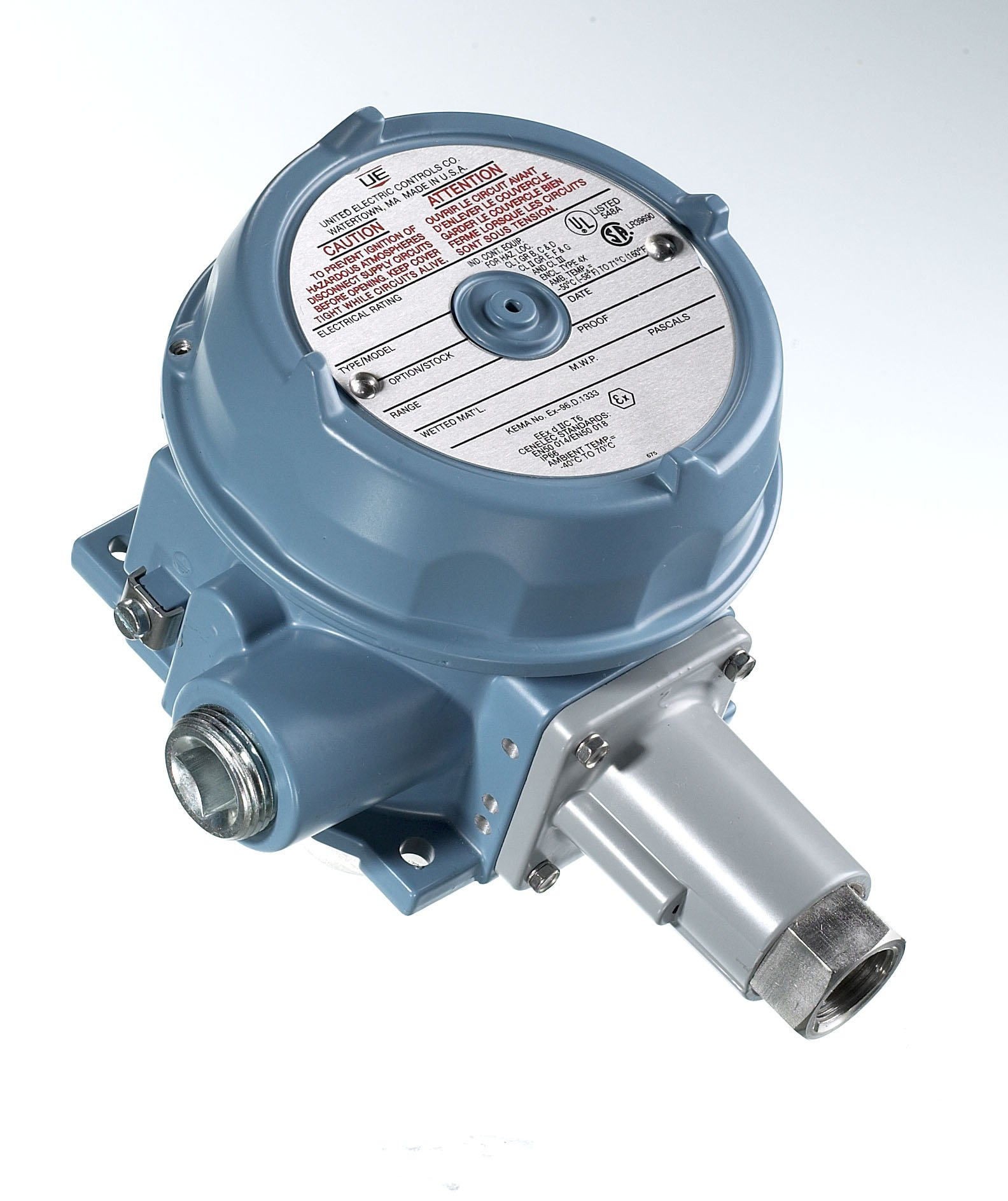 United Electric (UE) 120 Series Temperature Switch B121-13272