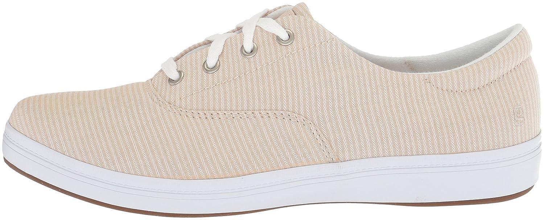 Grasshoppers Women's Janey Ll 9 Textural Stripe Sneaker B072Z6VQG1 9 Ll B(M) US|Stone f0a1e6