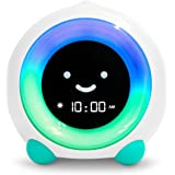 Mella Ready to Rise Children's Sleep Trainer, Alarm Clock, Night Light and Sleep Sounds Machine (Tropical Teal)