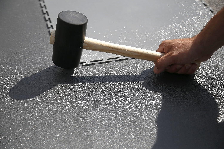 Piastrelle di alta qualità in pvc duro a incastro per garage