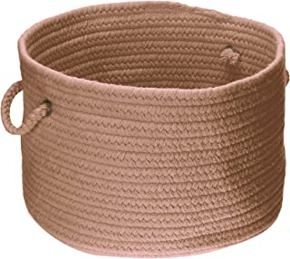 product image for Colonial Mills WL45 18 by 18 by 12-Inch Bristol Storage Basket, Mocha
