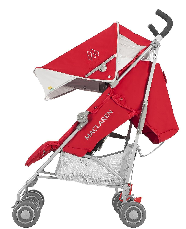 Maclaren Quest - Silla de paseo, nueva colección, color cardinal y plata por solo 239€