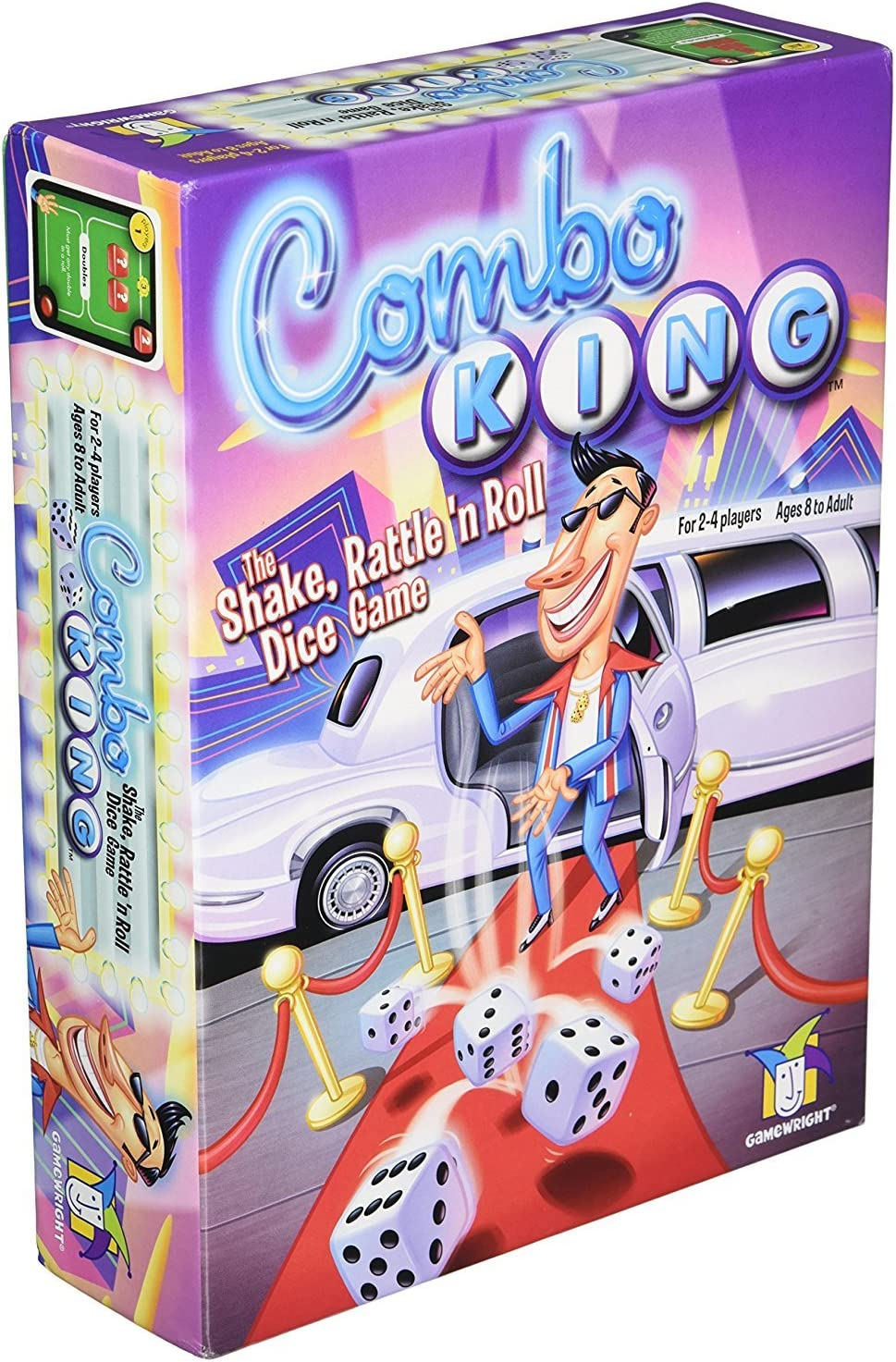 Gamewright Combo King, the Shake, Rattle 'n Roll Dice Game [並行輸入品]