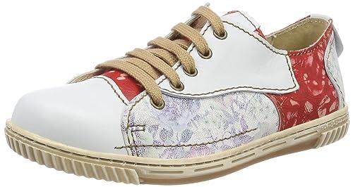 Rovers, Zapatos de Cordones Oxford para Mujer, Beige (Beige Beige/Beige), 42 EU