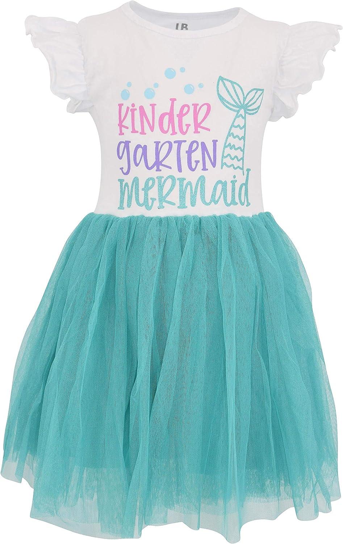 Unique Baby Girls Back to School Mermaid Tutu Dress