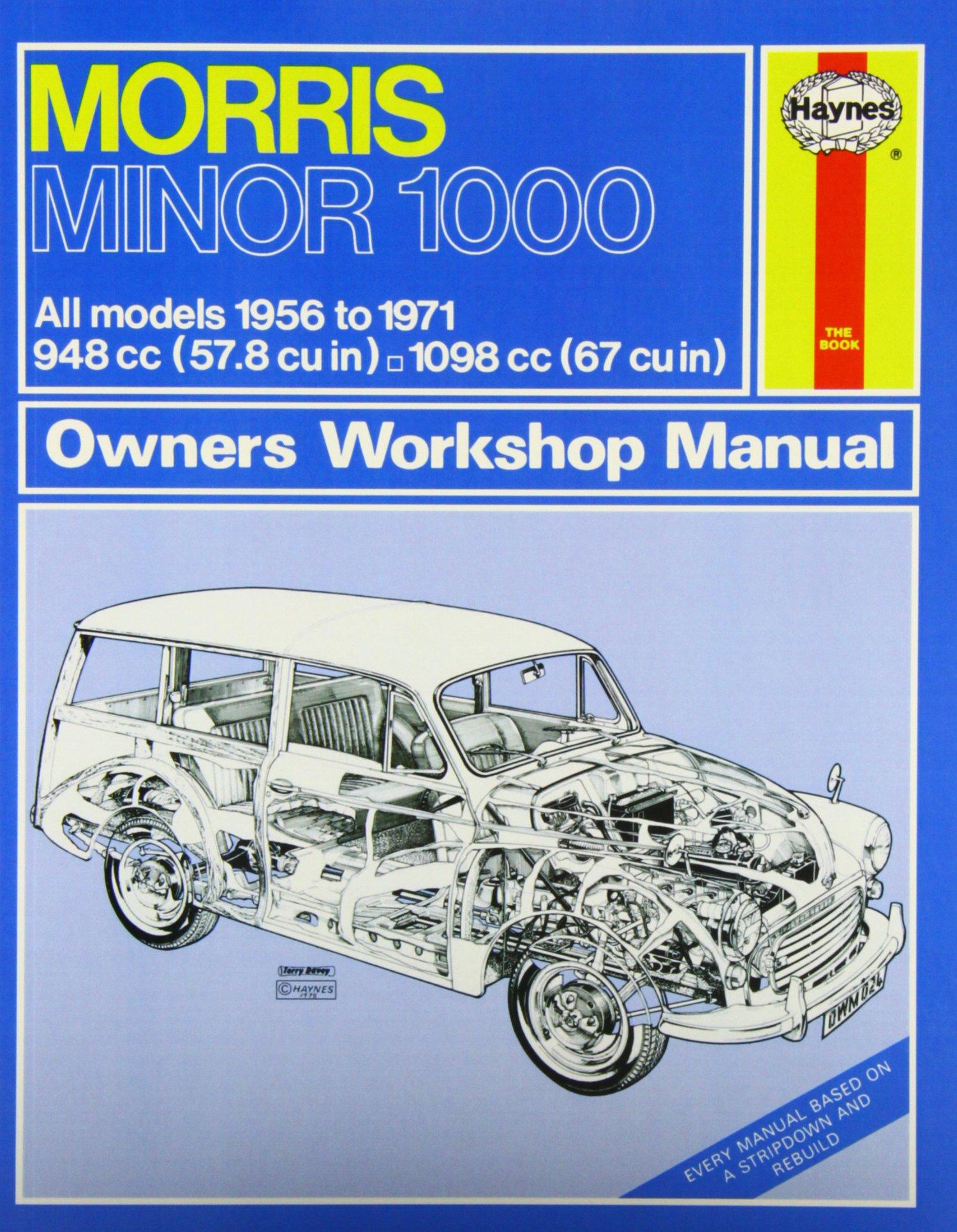 Morris Minor 1000 Owner's Workshop Manual: Haynes: 0038345000249:  Amazon.com: Books