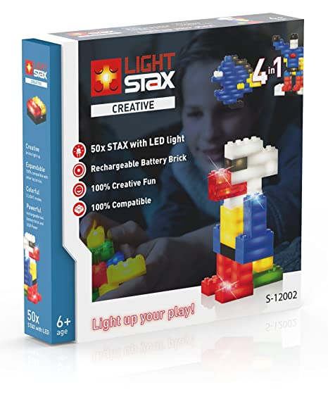Light STAX S de 12002 – Creative 4 en 1, diseño Cajas