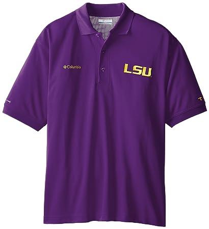 2a99de6a76c03 Amazon.com   NCAA LSU Tigers Collegiate Perfect Cast Polo Shirt ...