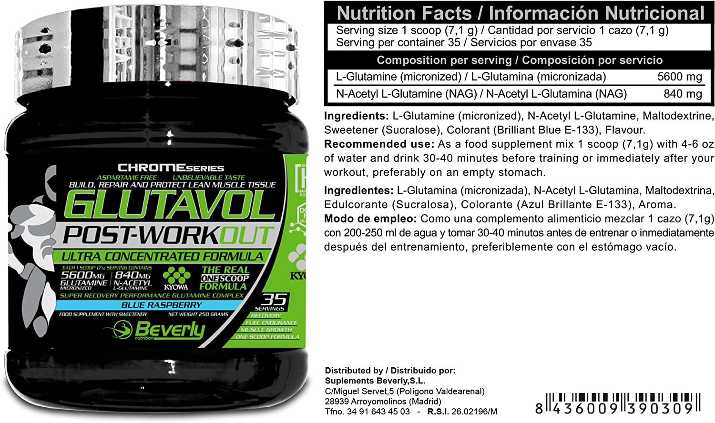 Beverly Nutrition Exclusive para ABSat40 Glutavol Post ...