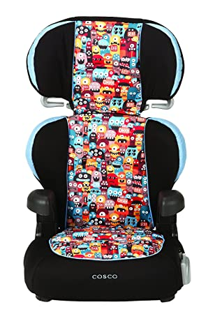 Cosco Pronto Belt Positioning Booster Seat Monsters