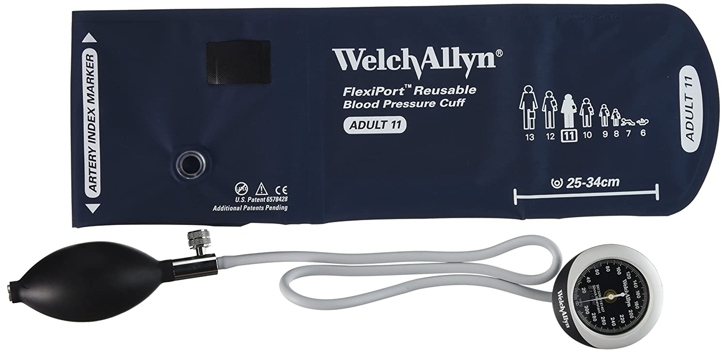 Amazon.com: Welch Allyn DS45-11 Gauge with Durable One Piece, Adult Cuff: Industrial & Scientific