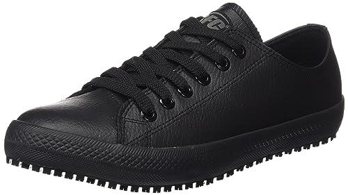 Shoes For Crews Old School Low Rider II - Zapatos de Trabajo y Seguridad, Color Negro, Talla 38 EU (5 UK)