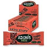 Adonis Low Sugar Nut Bar - Barritas de Pacanas Crujiente Sabor de Cocoa | 100% Natural, Baja en Carbohidratos, Sin…