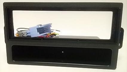 Fits Saturn Ion 2003 Single DIN Aftermarket Harness Radio Install Dash Kit