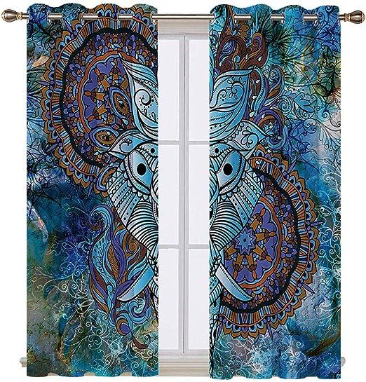 Amazon.com: Cortinas de ventana impermeables de Svshop, para ...