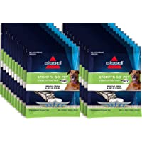 Bissell Stomp 'N Go Pet Lifting Pads + Oxy for Stain Removal on Carpet & Area Rug Cleaning, 20 Pack, 2194