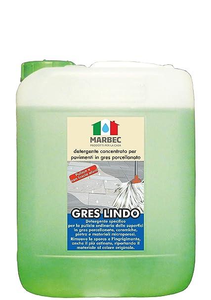 Marbec - Gres Lindo 5LT | Limpiador Concentrado específico para Suelos en gres porcelánico